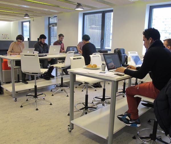 Le co-working au Hacking Monday